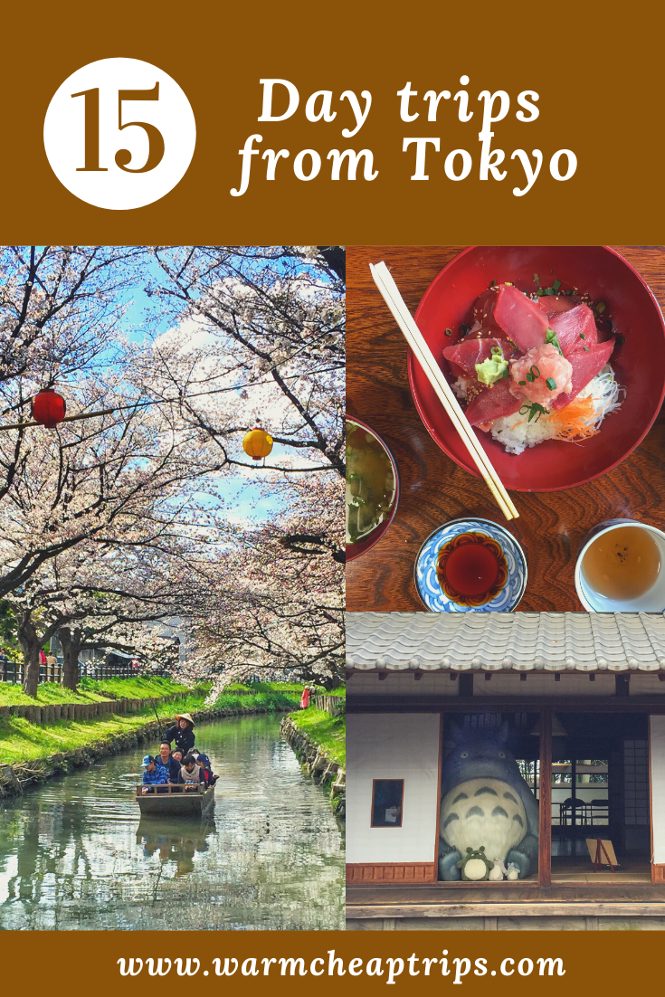 Daytrips from Tokyo