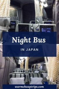 Night Bus Japan