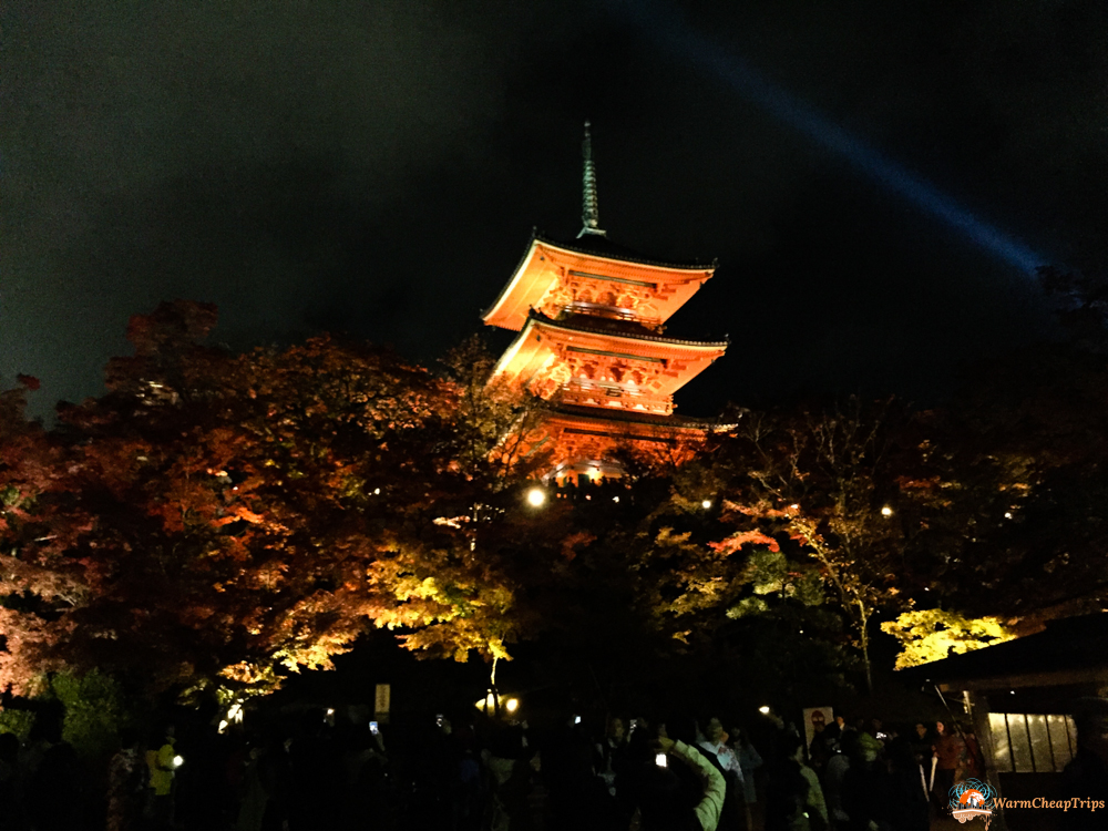 Kyomizudera Fall Illumination, Kyoto