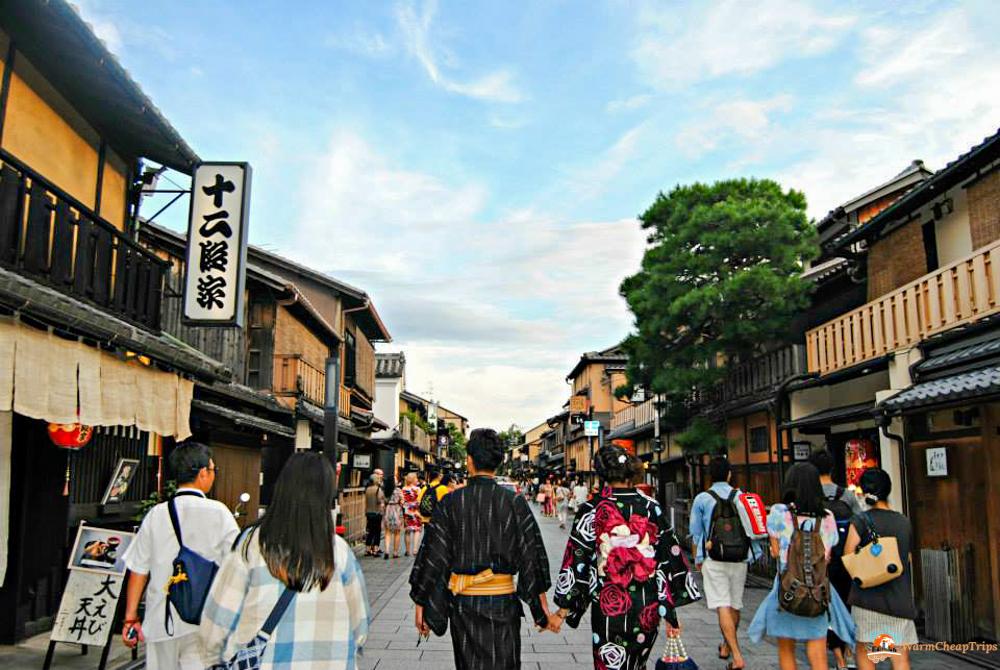 Kyoto in un giorno