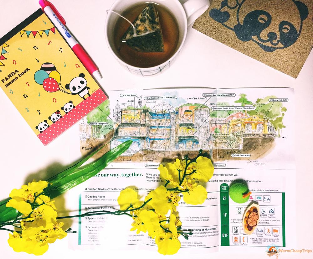 Mappa Museo Ghibli