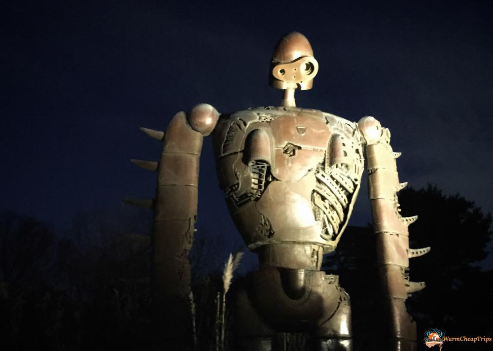 Laputa, Museo Ghibli