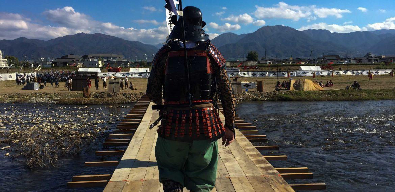 Rivivere la Battaglia di Kawanakajima