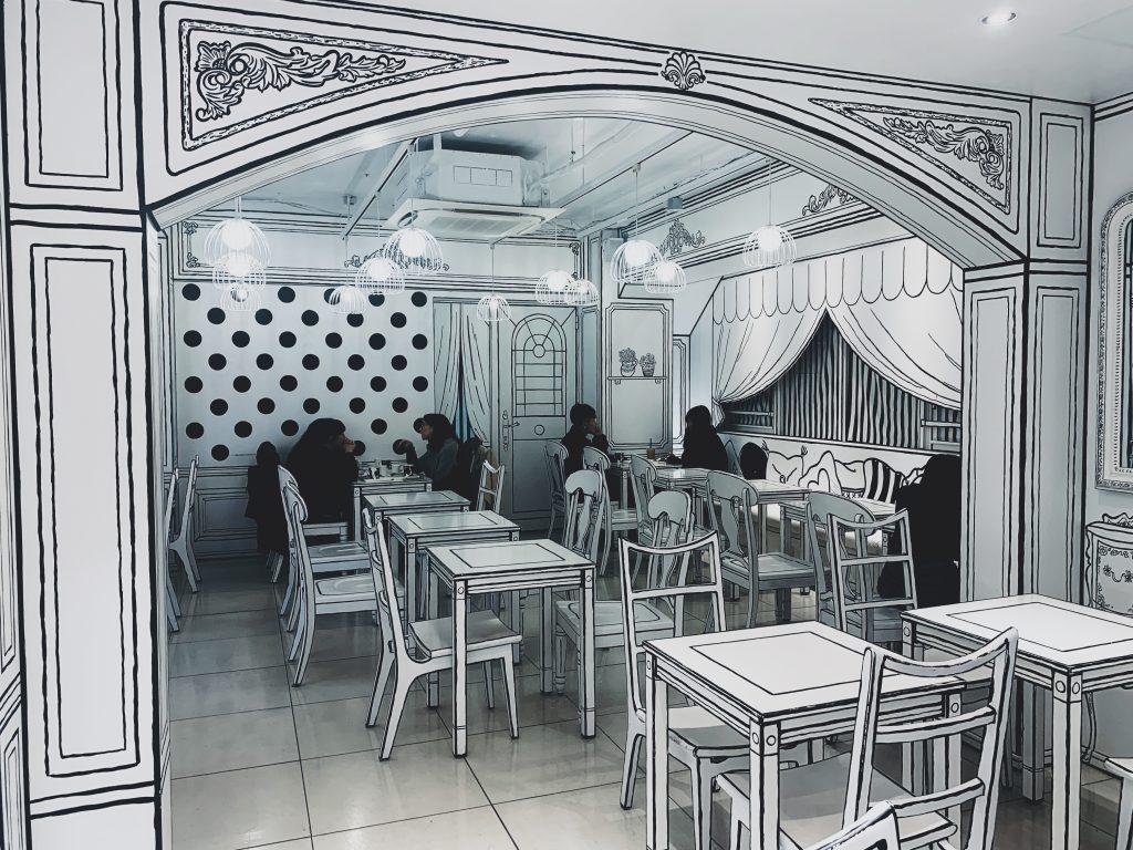 cafè particolari Tokyo