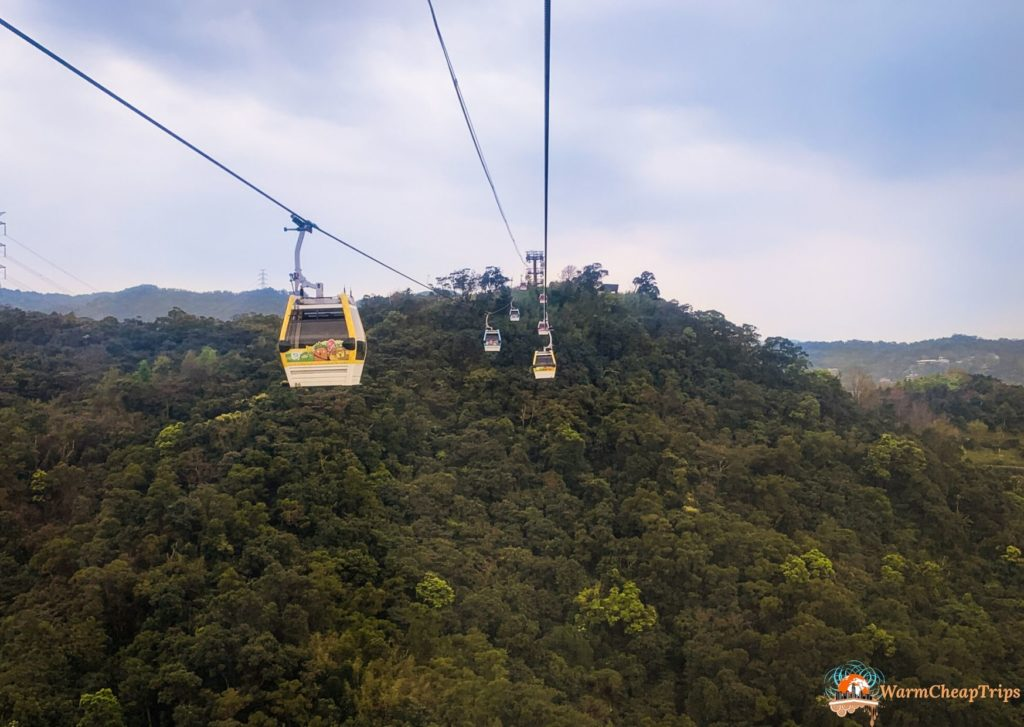 Cosa vedere a Taipei - Maokong Gondola