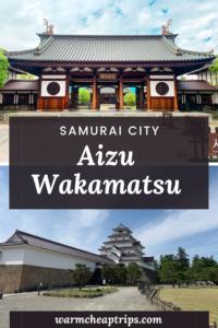 Aizu Wakamatsu Città Samurai